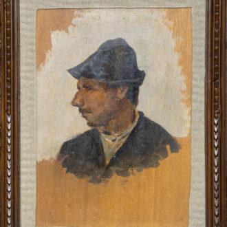 Ritratto di Mago Chio di Telemaco Signorini, pinacoteca Foresiana, foto di Roberto Ridi