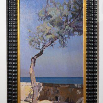 Tamerice di Llewellyn Lloyd, Pinacoteca Foresiana, Sistema Museale dell'arcipelago toscano Smart