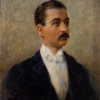 Ritratto di Pietro Gori di Plinio Nomellini. Pinacoteca Civica Foresiana. ©R.Ridi