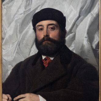 Ritratto di Raffello Foresi di Antonio Ciseri