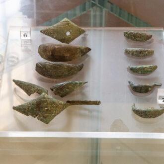 Fibule etrusche dal sito di Santa Lucia
