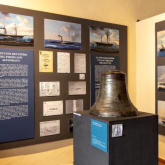 La campana del Polluce, Museo del Mare, Capoliveri