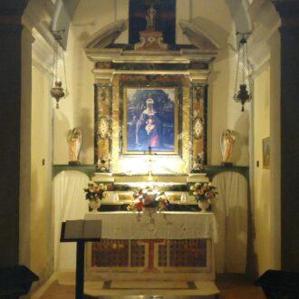 madonna nera, santuario di monserrato, isola d'Elba
